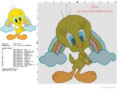 Tweet cross stitch