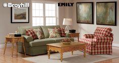 Emily Sofa & Arm Chair