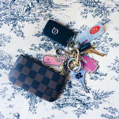 Preppy keychain keys travel