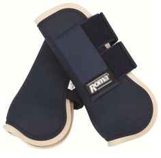 Roma Collection Open Front Jump Boots - Full - Navy/Biscotti by Roma F.C.. $26.99. Roma Collection Open Front Jump Boots. Save 10%!