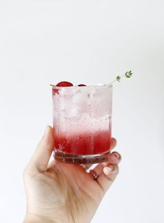 Raspberry Thyme Spritzer