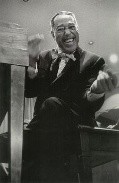 Duke Ellington on tour in Tennessee, 1952 Photo by Hugh Bell.