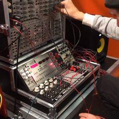 """No comment. #dancefair #kyteman #doepfer #verbos #audiodamage synced with @koma_elektronik #rh301"""