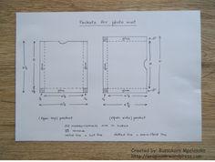 Measurements_flip & fold mini album b