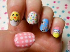 CherrySue, Doin' the Do: Super Easy Easter Nails