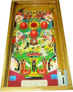 Wonderland, Williams, 1955, pinball