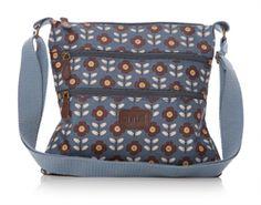 97b6e27604 2015 Shruti Mary Oilcloth Crossbody Bag Blue £28.00 (inc VAT) Product code:  1327 The Mary Oilcloth Cross-body bag from Shruti. Designed by British  artist ...