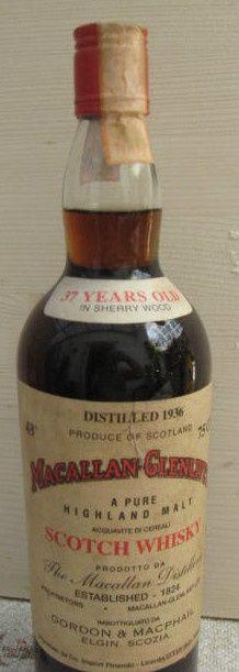 Macallan Scotch Whisky Mini Liquor Bottles