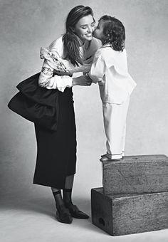 Miranda Kerr & Son Flynn for Vogue Australia