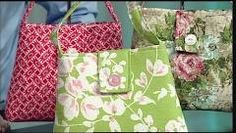 101-3 Trish Preston's tips for making fashion-forward purses and totes on It's Sew Easy - YouTube
