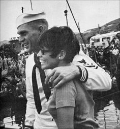 Steve McQueen with his wife | During the filming of The Sand Pebbles | 1966 | as Jake Holman