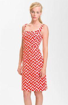 Milly 'Sydie' Print Sleeveless Sheath Dress | Nordstrom