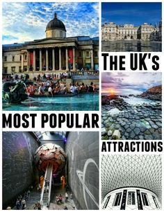 Find out which are the most popular UK attractions, most of which are free to visit! London Blog, Modern Metropolis, Old City, Most Popular, Attraction, How To Find Out, Places To Visit, History, World