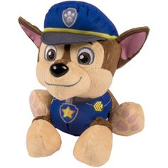 This toy reminds me of Kai. <3 Nickelodeon Paw Patrol - Plush Pup Pals- Chase