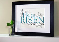 What a beautiful free Easter printable from @(in)courage! Season of Reflection. And Joy and Hope!