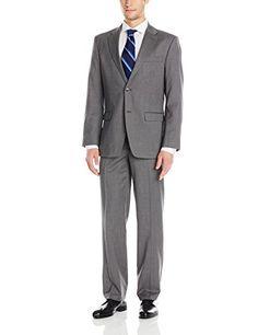 Tommy Hilfiger Men's Vasser Pinstriped 2 Button Side Vent Suit, Light Grey, 48 Regular Tommy Hilfiger http://www.amazon.com/dp/B00UOVJAGU/ref=cm_sw_r_pi_dp_evhDwb0DNPAWA