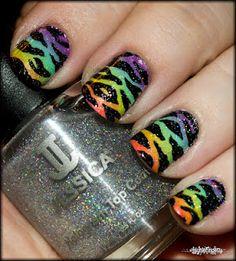 Rainbows, holos and zebras!