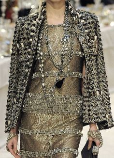 Glitz for the fall and winter.  Always timeless #chanel