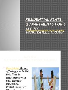 Panchsheel Group offering you 2/3/4 BHK flats & apartments with new projects  Panchsheel Pratishtha in sec 75 noida at low cost prices. For further detail,s you can contact to us: 9555034034.