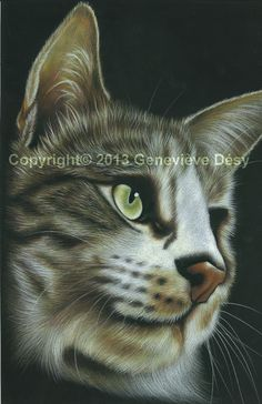 """Giclee Print / Reproductions: 8"""" x 10"""" = $14 / 12"""" x 15"""" = $24 / 16"""" x 20"""" = $42 http://genevievedesy.com/"""