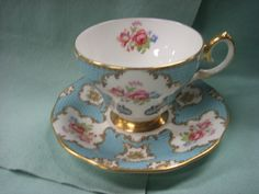 vintage tea cup and saucer, engish china