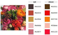 Color Palette Generator :  wedding themes Housemartin.gif