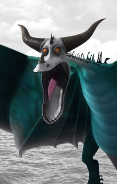 """Typhoomerang is a stoker class dragon first featured in Cartoon Network's 2012 series """"Dragons: Riders of Berk."""""""