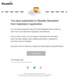 Email Newsletter Examples, Business Email Templates Sample | email ...