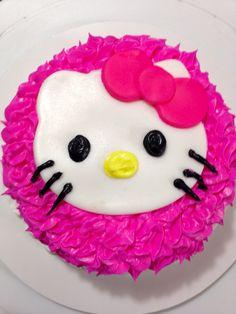 Hello Kitty Smash Cake
