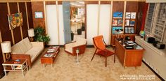 1:6 doll furniture | ... century modern 1 6 scale furniture and dioramas at www mod o rama com