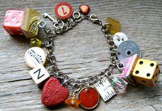 funky chunky charm bracelet