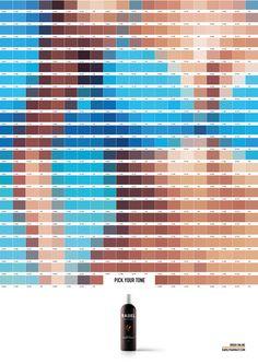 Rabel Print Ad - Summer Pantones, 2