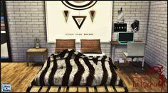 Sims 4 CC's - The Best: Animal Fur Blanket by Tatschu