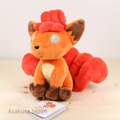 Pokemon ALL STAR COLLECTION Vulpix Plush doll SAN-EI From Japan | Collectibles, Animation Art & Characters, Japanese, Anime | eBay!