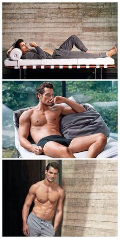 David Gandy ❤️The 28 piece collection starts at £20 for a two pack of briefs or boxers, vests are priced at £15 and sleepwear starts at £22.50. To launch the range, Gandy will make a personal appearance in M&S's Marble Arch store. He will then travel to Dublin, Hong Kong and Paris to personally unveil the collection. This is the first time M&S has globally launched a new range this way. In total this year, the range will be available in over 350 stores worldwide and online.