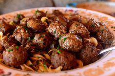 Salisbury Steak Meatballs | The Pioneer Woman