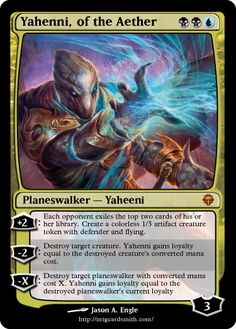 Yahenni, of the Aether