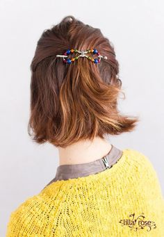 Another new flexi coming for the big Black Friday sale: 'Cera' a simple band design with multi-colored beads.