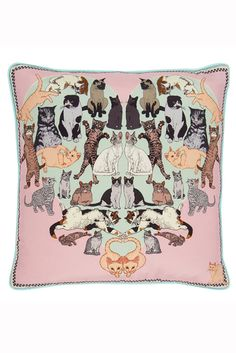 Silken Favours Precious Pussies Cushion LUX FIX $174.27