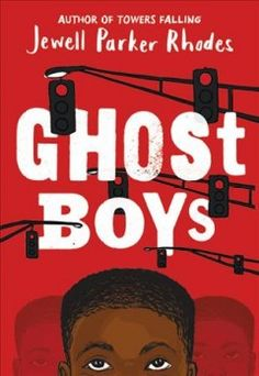 """Ghost Boys (Book) : Rhodes, Jewell Parker : """"After seventh-grader Jerome is shot by a white police officer, he observes the aftermath of his death and meets the ghosts of other fallen black boys including historical figure Emmett Till""""-- Books For Boys, Childrens Books, Rhodes, New Books, Good Books, Realistic Fiction, Ghost Boy, Read Aloud Books, Black Authors"""