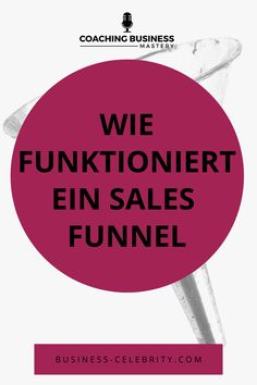 Sales Funnel - klingt wie die geheime Zutat für den ganz großen Business-Erfolg. Ist im Grunde jedoch nichts anderes als der Weg deines Interessenten, vom Erstkontakt bis zur Zusammenarbeit. Wie genau er funktioniert und wie du es schaffst mit einem Sales Funnel Kunden zu gewinnen, erfährst du hier. Hör gleich rein! #salesfunnel #onlinemarketing #businesstipps #mehrkunden #coachwerden #coaching #aufträgeerhalten #kundenfinden #businesspodcast Inbound Marketing, Affiliate Marketing, Internet Marketing, Mobile Marketing, Business Branding, Personal Branding, Online Coaching, Online Sales, Online Business