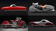 Coches y motos de los años 30 y 40: ¿los más bonitos de la historia?