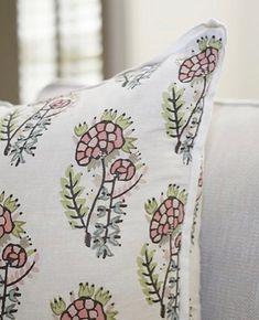 Tulu textiles. Like the contrast flange