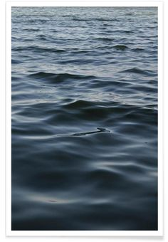 Feet In The Water als Premium Poster door Studio Nahili | JUNIQE
