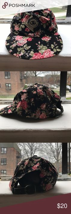 OBEY Propaganda 5-Panel Floral Hat Purchased this hat a couple of years ago, and maybe wore it 5 times? Hat is in great condition. No rips, no stains, no broken hardware. Obey Accessories Hats