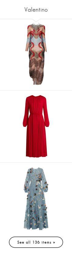 """Valentino"" by lorika-borika on Polyvore featuring мода, Chiara Ferragni, Valentino, Giorgio Armani, Guerlain, dresses, gowns, valentino, red и red cocktail dress"