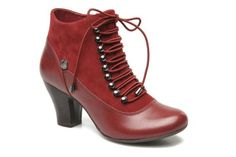 Hush Puppies Erika Lonna (Rouge) - Bottines et boots chez Sarenza (192687)