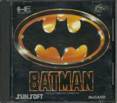 Batman for the PC Engine #PCEngine #PCE #NEC #PC #Engine #Batman #Retro #Gaming