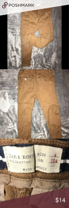 ZARA Boys Collection ZARA Boys Collection, maybe worn twice. Zara Bottoms Casual