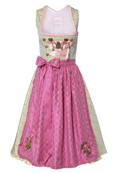 Dirndl. I like the pink and green together